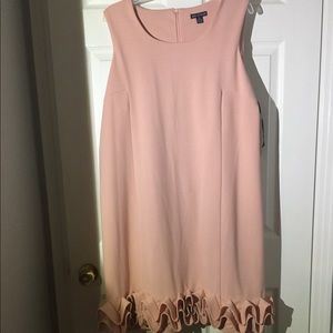 Short blush dress re-posh
